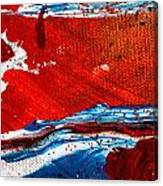 Abstract Original Artwork One Hundred Phoenixes Untitled Number Three Canvas Print
