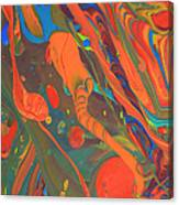 Abstract Paint Background Canvas Print
