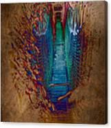 Abstract Path Canvas Print