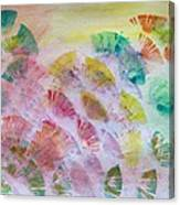 Abstract Petals Canvas Print
