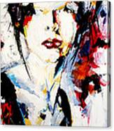 Abstract Portrait  Canvas Print
