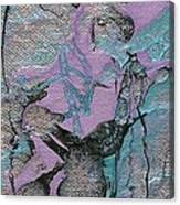 Abstract Pour 3 Canvas Print