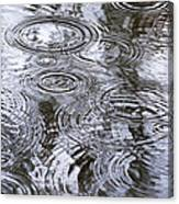 Abstract Raindrops Canvas Print