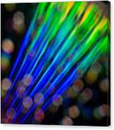Abstract Rays Canvas Print
