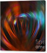 Abstract Red And Green Blur Canvas Print