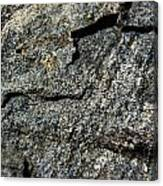 Abstract Rock View Canvas Print