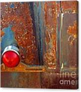 Abstract Rust Canvas Print