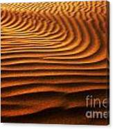 Abstract Sand Pattern  Canvas Print