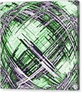 Abstract Spherical Design Canvas Print