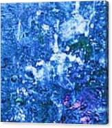 Abstract Splashing Water Canvas Print