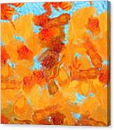 Abstract Summer Canvas Print