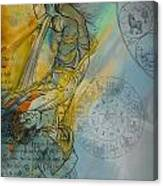 Abstract Tarot Art 015 Canvas Print