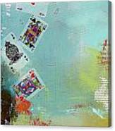 Abstract Tarot Card 009 Canvas Print