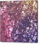 Abstract Tetraptych 3 Of 4 Canvas Print