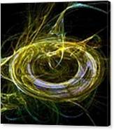 Abstract - The Ring Canvas Print