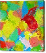 Abstract  Twenty  Of  Twenty  One Canvas Print