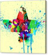 Abstract Vector Background Canvas Print