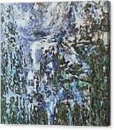 Abstract Winter Landscape Canvas Print