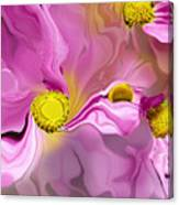 Abstracted Pink Canvas Print