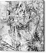 Abstraction 0521 - Marucii Canvas Print