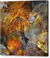 Abstraction 435-08-13  Marucii Canvas Print