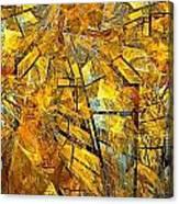 Abstraction 635-12-13 Marucii Canvas Print