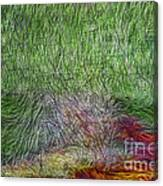 Abstraction Of Life Canvas Print