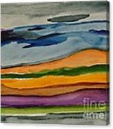 Abstractscape Canvas Print