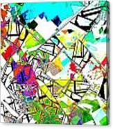 Abstrakt Canvas Print