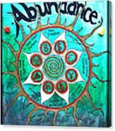Abundance Money Magnet - Healing Art Canvas Print