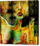 Abused And Stained Canvas Print