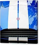 Ac Shelby Cobra Grille - Hood Emblem Canvas Print