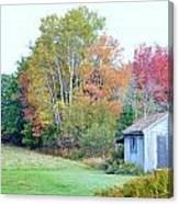 Acadia Autumn 2014 Canvas Print