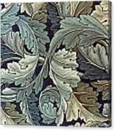 Acanthus Leaf Design Canvas Print