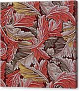Acanthus Leaf Canvas Print
