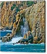 Acapulco Cliffs Canvas Print