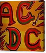 Acdc Canvas Print