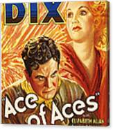 Ace Of Aces, Us Poster Art, From Left Canvas Print