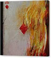 Ace Of Diamonds Canvas Print