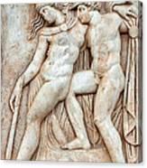 Achilles And Penthesilea Canvas Print