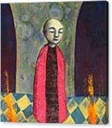 Acolyte With Fire Pots Canvas Print