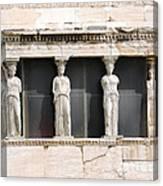 Acropolis Revisited  2 Canvas Print