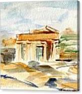 Acropolis Canvas Print