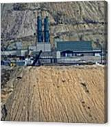 Across The Berkeley Pit Viewing  Canvas Print