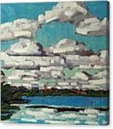 Across The Cataraqui Canvas Print