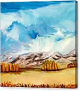 across the Miles Canvas Print