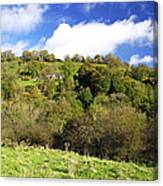 Across The Southern End Of Monk's Dale Canvas Print