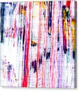 Acryl  Happy Sally Behind The Shower Curtain... Boo Canvas Print