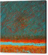 Acrylic #3 Canvas Print