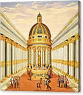 Bacchus Temple Canvas Print